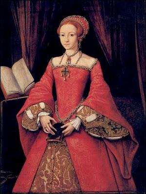 Fille d'un célèbre enlumineur flamand, elle s'installa en Angleterre où elle devint peintre à la cour d'Edouard VI, Marie I puis Elisabeth I. Ici 'Portrait d'Elisabeth Tudor'.
