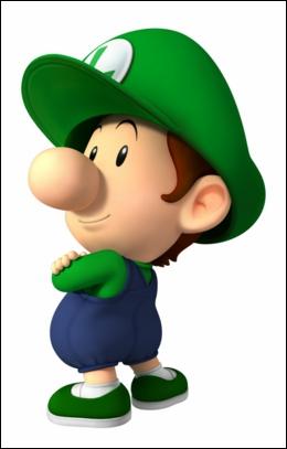 Bébé Luigi a un cousin . Lequel ?