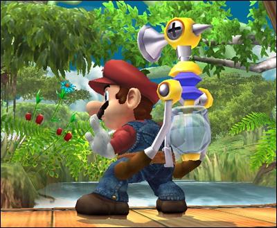 Combien de demi-cercles Mario a-t-il sur sa moustache ?