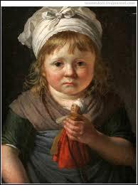 Portrait de Anne-Louis, fils de l'artiste.
