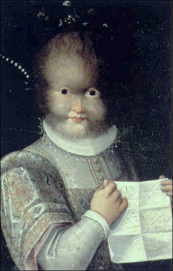 'Portrait d'Antonietta Gonsalvus'
