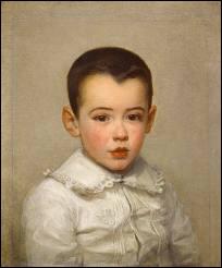 Portrait de Pierre, fils de l'artiste.