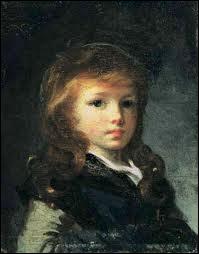 'Portrait d'enfant au béret vert'