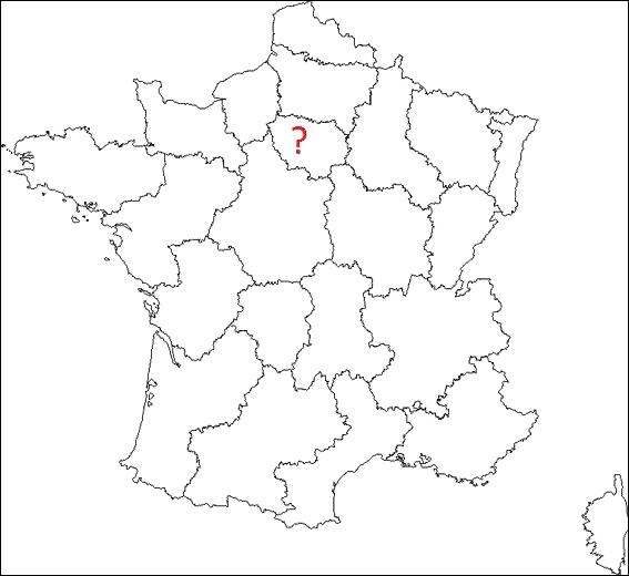 Quelle est cette région française où figure un point d'interrogation ?