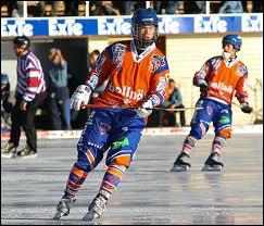 Quel est ce sport d'hiver, ancêtre du Hockey sur glace ?