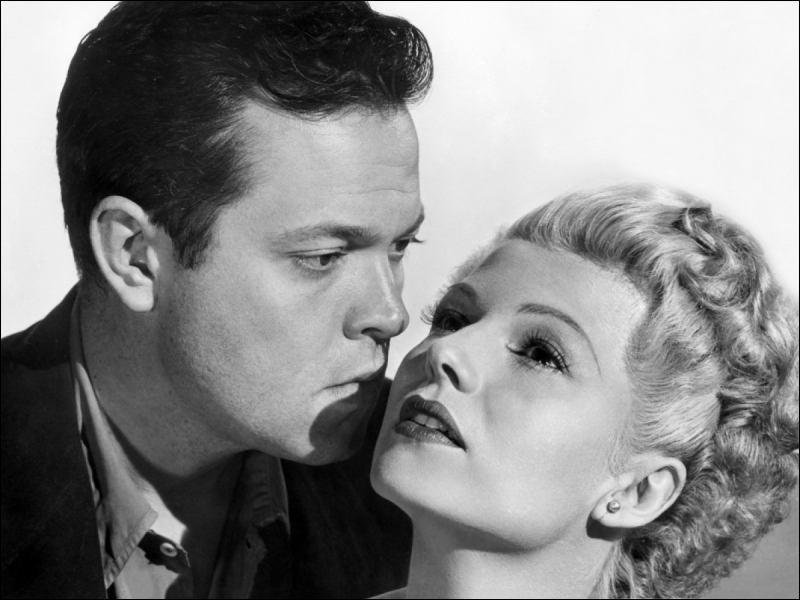En 1948, Rita Hayworth crève encore l'écran dans un film de et avec Orson Welles. Elle devient alors ''La Dame de… ?