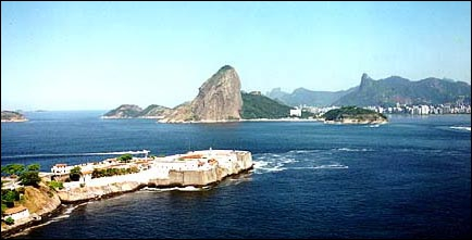La baie de Guanabara :