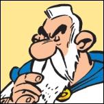 Druide diététicien qui apparaît dans 'Le Bouclier arverne' :