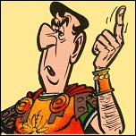 Ce légionnaire est chargé d'exécuter les ordres du centurion Caius Bonus :
