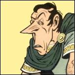 Questeur romain, il est empoisonné par le gouverneur Gracchus Garovirus :
