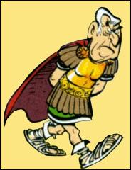 Ce général est un Romain qui apparaît dans 'Astérix et les Goths' :