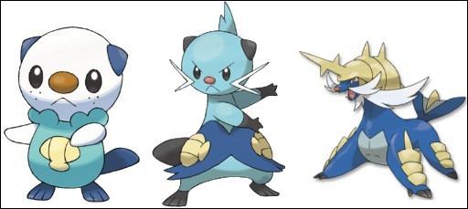 A quelle région appartiennent ces Pokémons ?