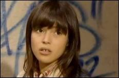 Dans quelle autre série avait-on pu voir la jeune actrice dans le rôle d'Alix Provin ?