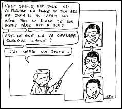 D'après la version officielle, Kim Jong II est mort ...