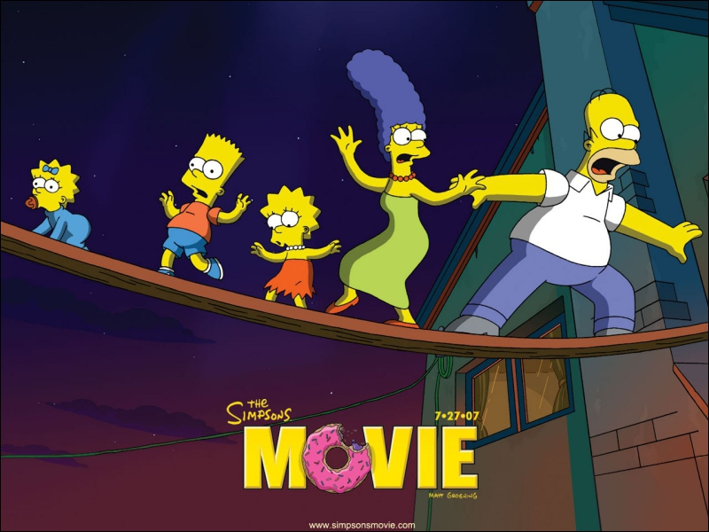 quizz les simpson le film quiz simpsons simpson films. Black Bedroom Furniture Sets. Home Design Ideas
