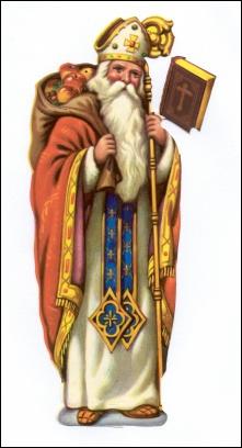 Qui accompagne le Saint-Nicolas la nuit de la St Nicolas pour fouetter à coups de martinets les vilains garnements ?