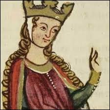 Quel personnage féminin emblématique a un rapport direct avec le père de Philippe Auguste et ces 3 rois d'Angleterre ?