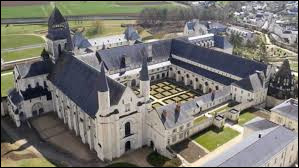 Dans quelle abbaye située en Anjou se trouve la nécropole de cette dynastie ?