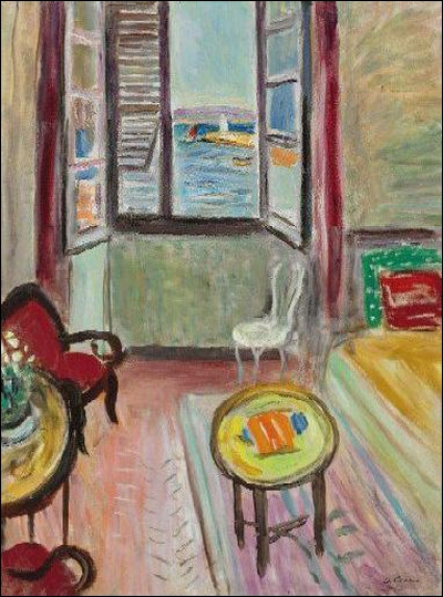 Quizz saint tropez en peinture quiz peintres peintures for La salle a manger francis jammes