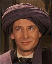 Connaissez-vous l'acteur qui interprète Quirel ?