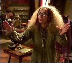 Qui se prête au rôle de l'excentrique professeur de divination ?