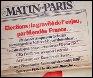 Le quotidien Le Matin de Paris a été fondé par...