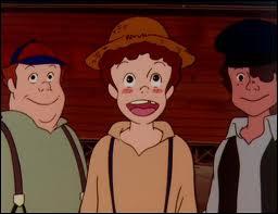 Comment s'appelle le fils de l'épicier (à gauche), un des meilleurs amis de Tom ?