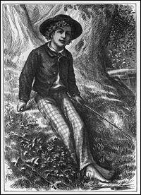 Qui a créé (en 1876) le personnage de Tom Sawyer en s'inspirant de son enfance ?