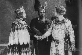 Le film 'Les Nibelungen' (séparé respectivement en deux parties : 'La Mort de Siegfried', 'La Vengeance de Kriemhild') met en scène :