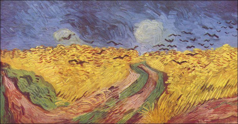 Comment se nomme ce tableau peint à Auvers sur Oise en 1890?