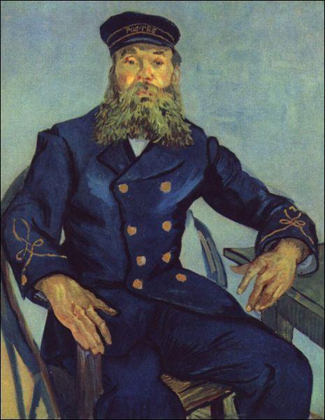 Entre 1888 et 1890, Van Gogh se consacre au portrait. Comment s'appelle celui-ci?