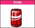 Combien coûte le soda 50 cl ?