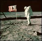 Quelle mission spatiale a conduit les Hommes sur la Lune?