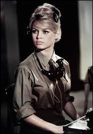 Cette actrice française est plus connue sous les initiales de BB. Elle a joué dans le film mythique 'Et Dieu. . créa la femme'. Avez-vous trouvé ?