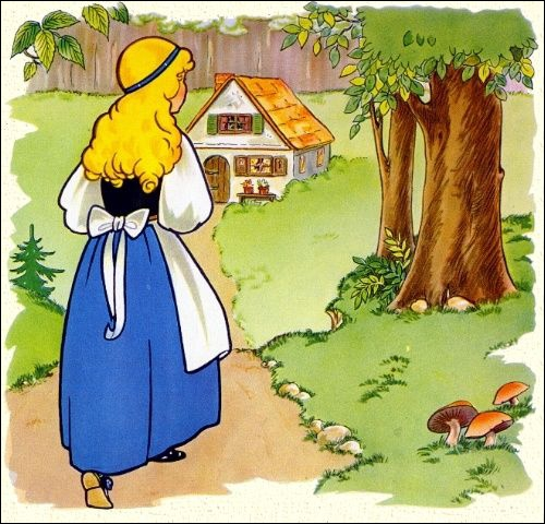 When she walked in the forest, she saw a house. She knocked at the door, nobody was there. She was very hungry and she saw three bowls...   Trouvez un synonyme de  very hungry .