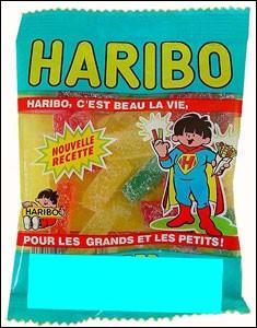 Comment s'appelle ce sachet de sucreries ?