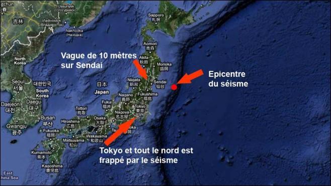 Monde : quel est ce pays qui a été ravagé par un séisme et un tsunami le 11 mars ?