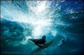 Et comment un surfeur qui place sa jambe droite à l'avant de la planche ?