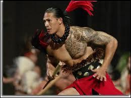 Sur l'île d'Hawaï, les hommes se tatouent le corps de motifs géométriques, démontrant ainsi leur appartenance sociale. Ces tatouages doivent effrayer leurs ennemis. Comment cela s'appelle-t-il ?