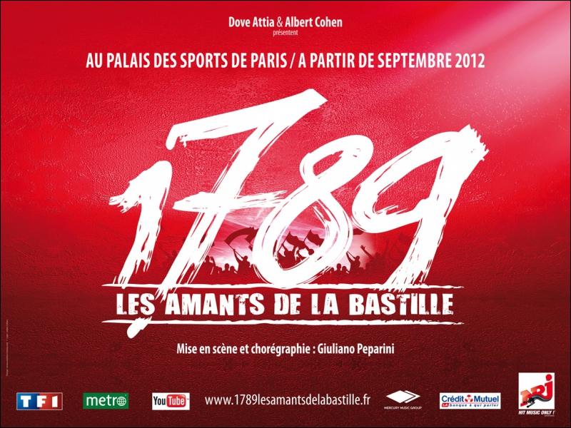 Un des singles de 'Mozart, l'opéra rock' annonçait '1789 : Les amants de la Bastille' en septembre 2012 au Palais des Sports de Paris. Quel est ce single ?