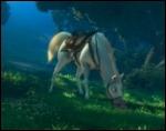 Quel est le nom du cheval de la garde royale ? Il part à leur recherche en flairant le sol comme un chien . .