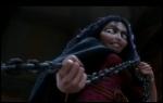 Comment l'horrible mère Gothel tue-t-elle Flynn ?