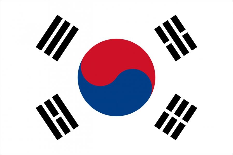 A quel pays asiatique ce drapeau correspond-il ?