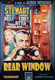 Quel est le titre de ce  film signé Hitchcock sorti en 1954 ?