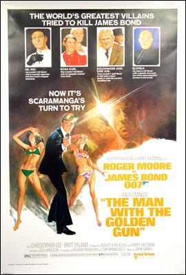 Un James Bond cette fois avec  R.Moore...