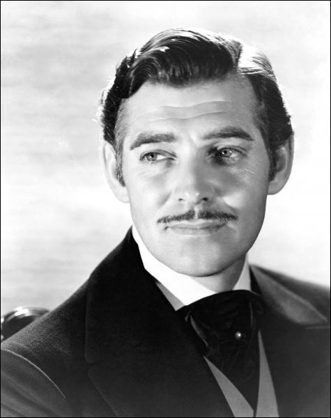 Dans le mythique 'Autant en emporte le vent' (1939), il incarne Rhett Butler, rôle qui l'a rendu très célèbre. Qui est-ce ?