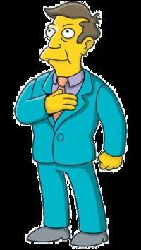 Comment le principal, de l'école élémentaire de Springfield, s'appelle-t-il ?