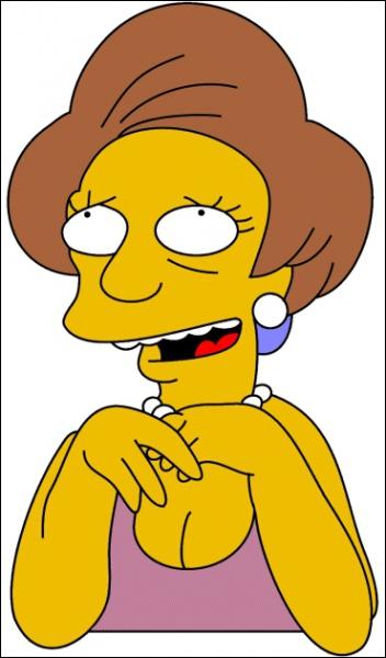 Comment la maîtresse de Bart s'appelle-t-elle ?