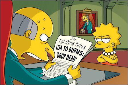 Qui est Mr Burns ?
