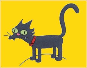 Comment le chat des Simpson s'appelle-t-il ?